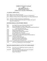 Download Heather Heavin's CV. - Johnson-Shoyama Graduate ...
