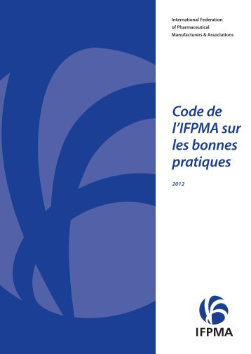 Code of Practice-French.indd - IFPMA