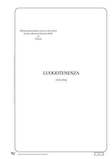 LUOGOTENENZA - Il postalista