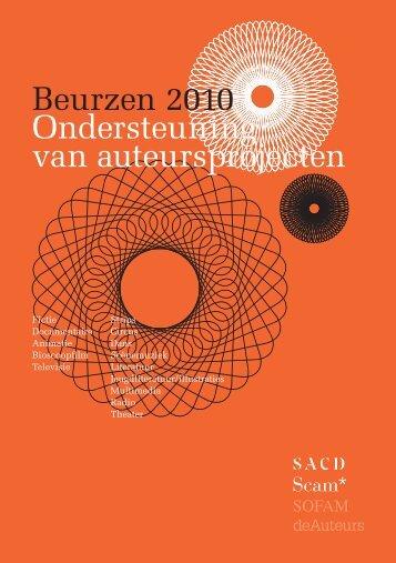 SAC107_Programme des bourses_NL_v2.indd - Report - Sacd