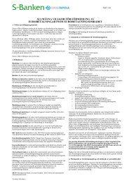 allmänna villkor för förmedling av eurobetalningar inom ...