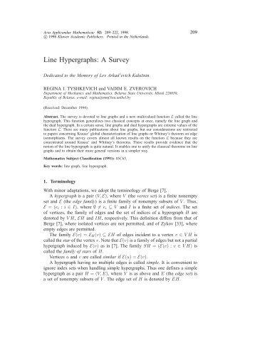 hypergraphs berge c