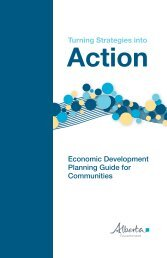 Turning Strategies into Action - Enterprise and Advanced Education