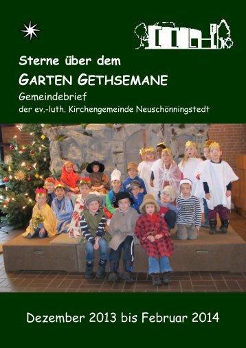 Dezember 2013 bis Februar 2014 geschwärzt - Kirchengemeinde ...