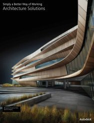 Autodesk® Architecture Solutions Brochure - Kelar Pacific