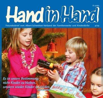 Hand in Hand 04/2009 - Albert-Schweitzer-Verband