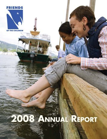 2008 Annual Report - Friends of the Children