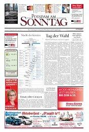 Tag der Wahl - Potsdamer Neueste Nachrichten