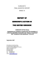 report of report of eurochip-2 action in 2 action in 2 action in the ...
