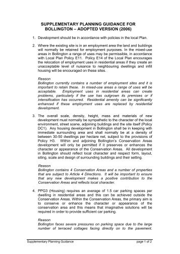 Supplementary Planning Document (SPD) - Team London Bridge