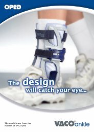 The ankle brace from the makers of VACO®ped - Biziz