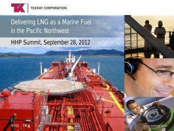 Delivering LNG as a Marine Fuel in the Pacific Northwest - HHP