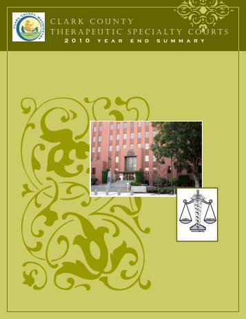 CLARK COUNTY THERAPEUTIC SPECIALTY COURTS