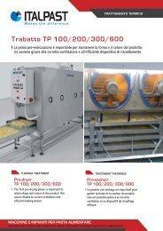 Trabatto TP 100/200/300/600 - Italpast