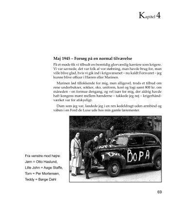 Kapitel 4 69 Maj 1945 – Forsøg på en normal tilværelse - Aage Staffe