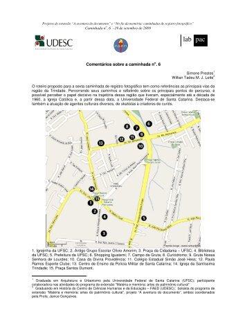 Caminhada 6 - LABPAC - Udesc