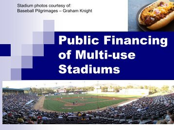 County Public Financing Options - Clark County