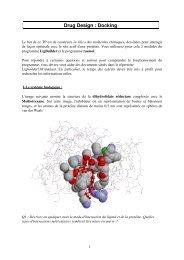 TP dock - Biologie