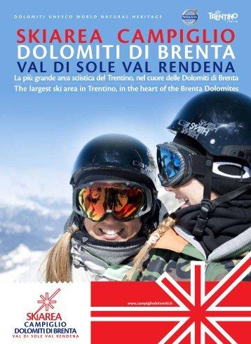 Brochure skiarea 2013 - Campigliodolomiti.it