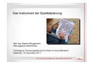 Gastvortrag Dagmar Brüggemann - Kinderfreundliche Stadtgestaltung