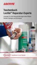 Taschenbuch Loctite® Reparatur-Experte - KVT-Fastening