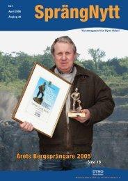 SprengNytt Nummer 1_2006.pdf - Orica Mining Services