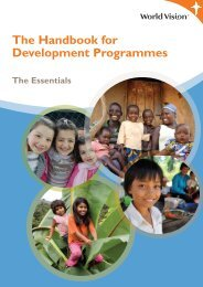 The Handbook for Development Programmes - World Vision ...