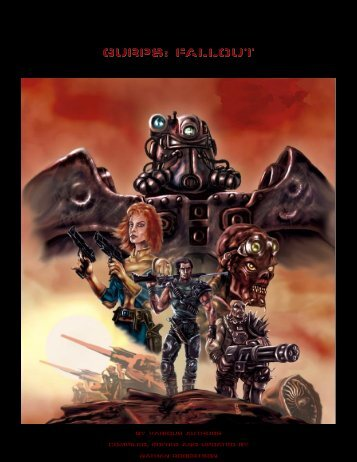 GURPS: FALLOUT - Fallout GURPS - Free