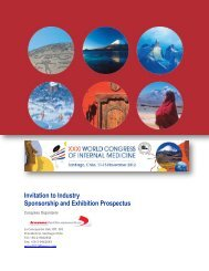 Invitation to Industry Sponsorship and Exhibition Prospectus - Kenes