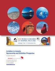 Invitation to Industry Sponsorship and Exhibition Prospectus - Kenes