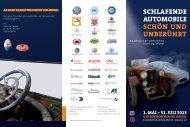 Ausstellungsflyer - Mercedes-Benz SLK-Club