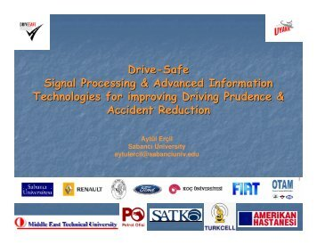 Drive-Safe Signal Processing & Advanced Information Technologies ...