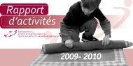 Rapport d'activités 2009-2010 - Rcpeqc.org