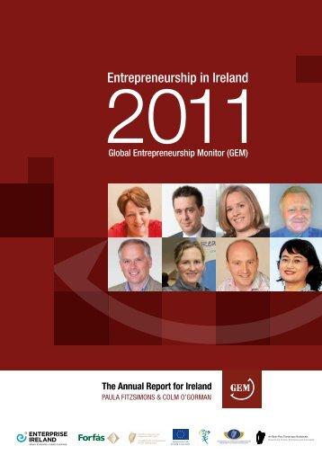 Entrepreneurship in Ireland 2011 - Enterprise Ireland