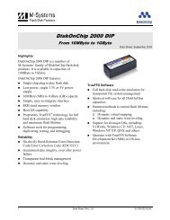 Data Sheet: DiskOnChip 2000 DIP