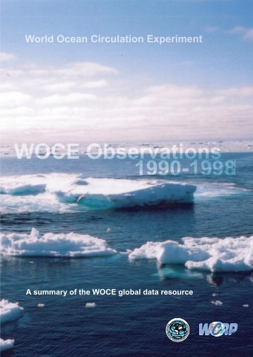 WOCE Global Data Resource - World Ocean Circulation Experiment ...