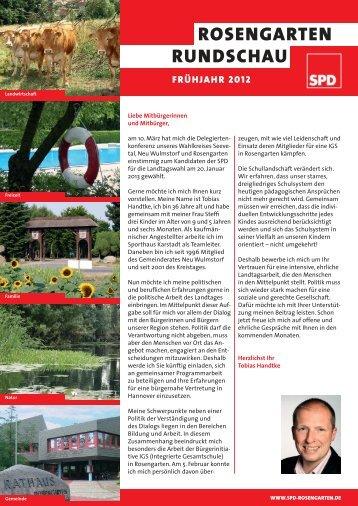 Rosengarten Rundschau Ausgabe Juni 2012 - SPD Rosengarten