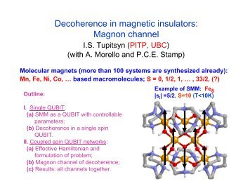Decoherence in magnetic insulators: Magnon channel
