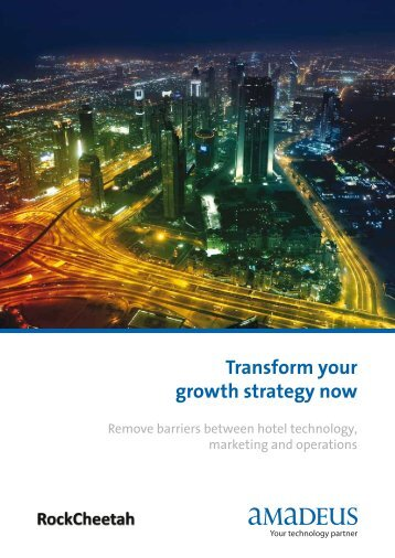 Transform your growth strategy now - Investor relations at Amadeus
