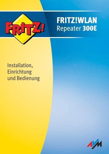 FRITZ!WLAN Repeater 300E - Produktinfo.conrad.com