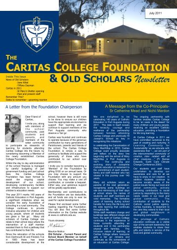 & OLD SCHOLARS Newsletter - Caritas College