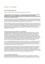 Sentudviklede (pdf 35 KB) - Aarhus.dk