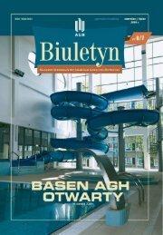 Wersja PDF - Biuletyn AGH