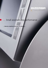 … Small assistant, big performance … - Bizerba Polska Sp. z oo
