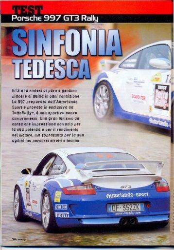 OMCN & Orlando R. on Porsche 997 GT3 Rally