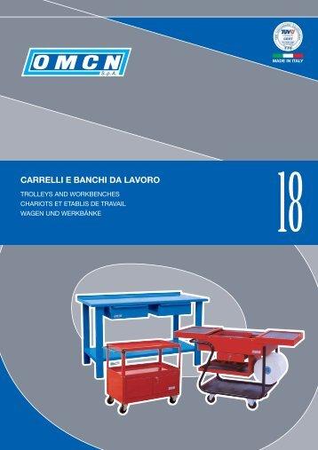 carrelli e banchi da lavoro - Omcn
