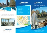 FESTIVAL TOWERS - Oaks Hotels & Resorts