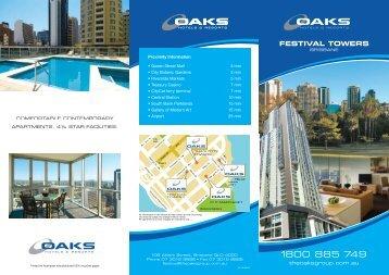 FESTIVAL TOWERS - Oaks Hotels & Resorts