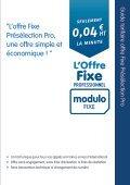 Guide tarifaire Modulo FIXE Pro - Prixtel - Page 2
