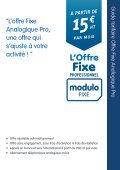 Guide tarifaire Modulo FIXE Pro - Prixtel - Page 5